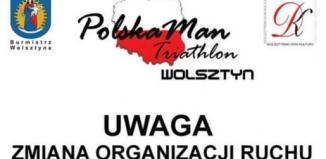 Zmiana organizacji ruchu w Wolsztynie i Karpicku